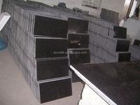 Absolute black granite floor tiles black galaxy granite price