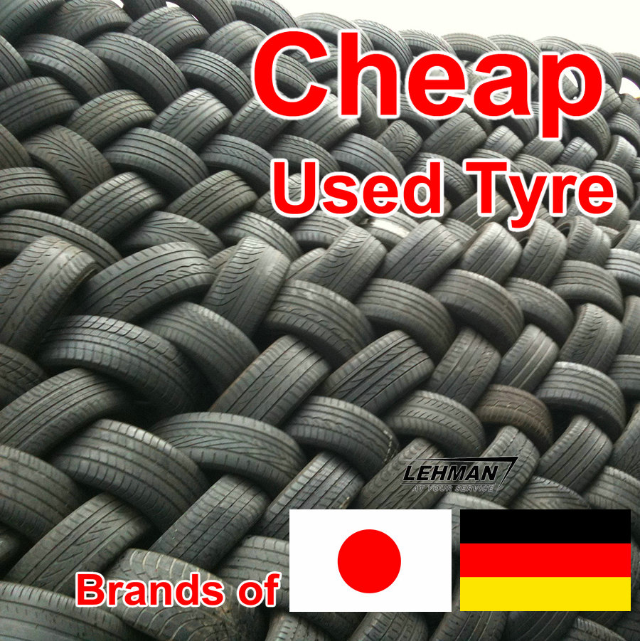 Large Quantity Japanese Japan Used Tire Sale in China