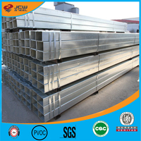 HOT dipped galvanized steel pipe / GI square steel pipe / tube structure building