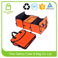 High quality polyester material mulit-pockets style Car Truck Organizer with cooler bag