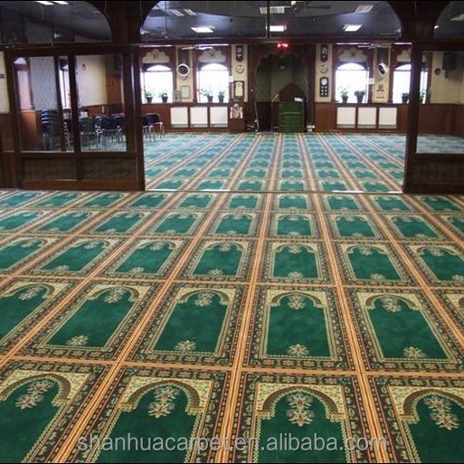 2015 New Shanhua Machine Made Persian Carpet for Prayer Room Carpet