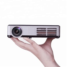 600 ANSI Lumens Real 3D Projector with 1280*800p 1080P Smart 2D Convert 3D For Home/ Education