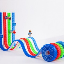 DIY Building Blocks Tape Base Dots Adhesive Plastic Legos Tape Base Plate Sticky Backing Perfect For Kids Toy