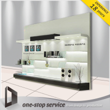 mobile phone showcase kiosk design display counter for sale