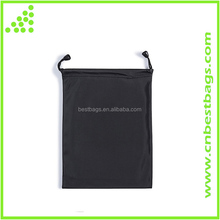 Waterproof Black Dark Small Carrying Storage Pouch Case Canvas Bags for iPhones Pencil Case Cosmetic Bags iPad Mini