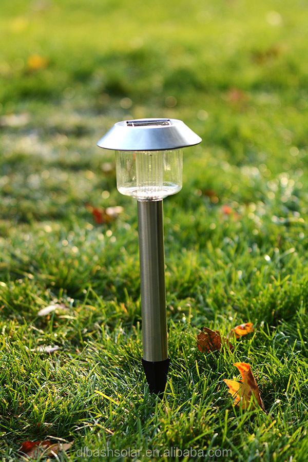 strong 4 packs LED stainless garden light SOLAR POWER decorative light pathway light