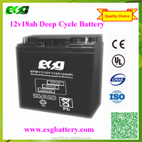 Rechargeable Deep Cycle Storage MF SLA 12V18AH Sealed Lead Acid Battery