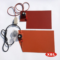 Silicon rubber heating plate