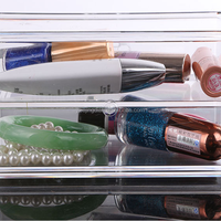 Layered Transparent Acrylic Cosmetic Storage Box