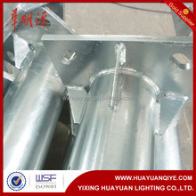 steel light lamp post manufacturer