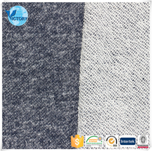 Fashional Coarse Needle Weft Knitted Yard Dyed 100 Cotton French Terry Knitted Fabric