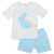 Easter baby clothing embroidery bunny pattern boutique kids boys outfits