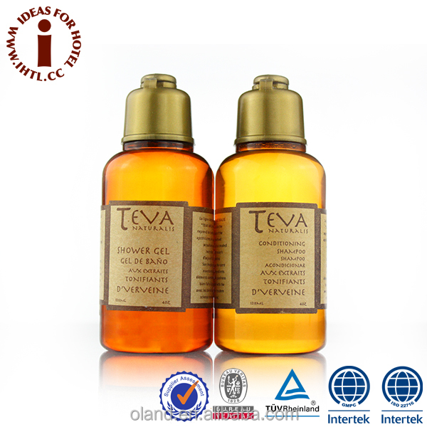 Hotel Herbal Natural Clean Shower Gel And Conditioning Shampoo