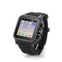 2015 Dual Core Wrist Consumer Electronics Android 4.4 Watch 3G CDMA/GSM GPS Smart Watch Phone With Skype video Chat SMS