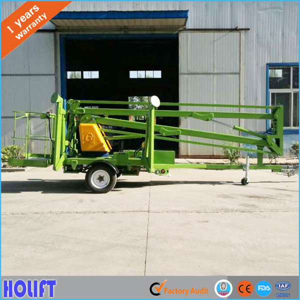 Good price towable boom lift 10m man basket platform With Long-term Service