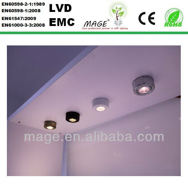 2014 2.4w new product led cabinet light