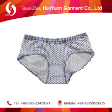 2015 top quality factory price china mature marine lingerie of cotton elasti Huoyuan factory