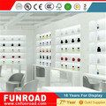 Funroad fashionable wooden display cabinets with led light for perfume retail store