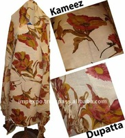 Ladies Warm Cloth 3 PCS SUIT ( Pure Pashmina Shawl with Kerendi Shirt for Winter )