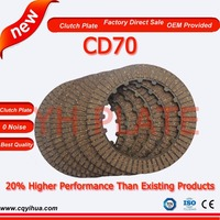 Motor bike friction material clutch disc plate,long service life Cd 70 friction plate,motorcycle friction disc