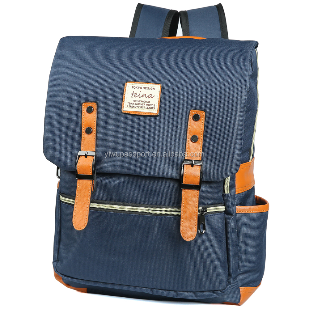 Stylish Unisex Laptop BackPack for School and Travel (Navy)