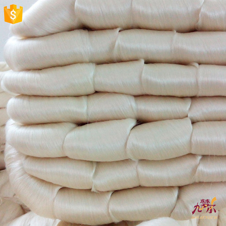 2016 wholesale price stable quality 100% spun silk yarn for knitting