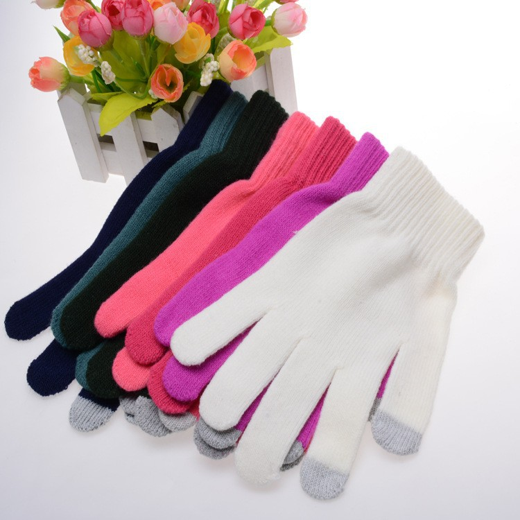 Best Seller Popular Iglove Colorful Winter Acrylic Gloves Touch Gloves For Touch Screens Smartphone Tablet PC E-books & ATM
