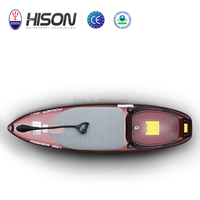 Alibaba export top quality 130cc 4 stroke kayak jet power surfboard for sale
