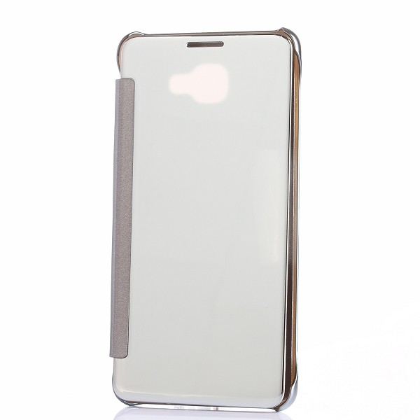Clear View Electroplated PC Flip Cover Case for Samsung Galaxy A9