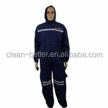 high quality blue color coal mining disposable uniform coverall