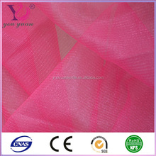 good quality hexagonal polyester/nylon mesh fabric from Changle industrial bases