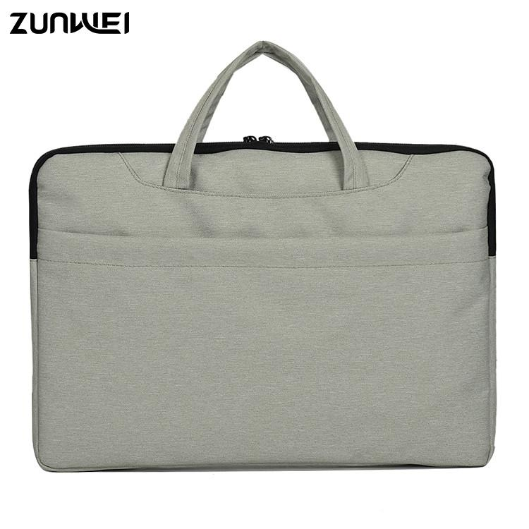 hot selling waterproof nylon office bag felt 14 15 inch computer bag for laptop