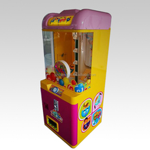 Arcade Simulator Small Arcade Claw Crane Coin Operated Push Win Prize Game Machine for Sale Kids Used Lollipop
