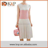 5238 Fashion designs for ladies sweater vest one piece dress