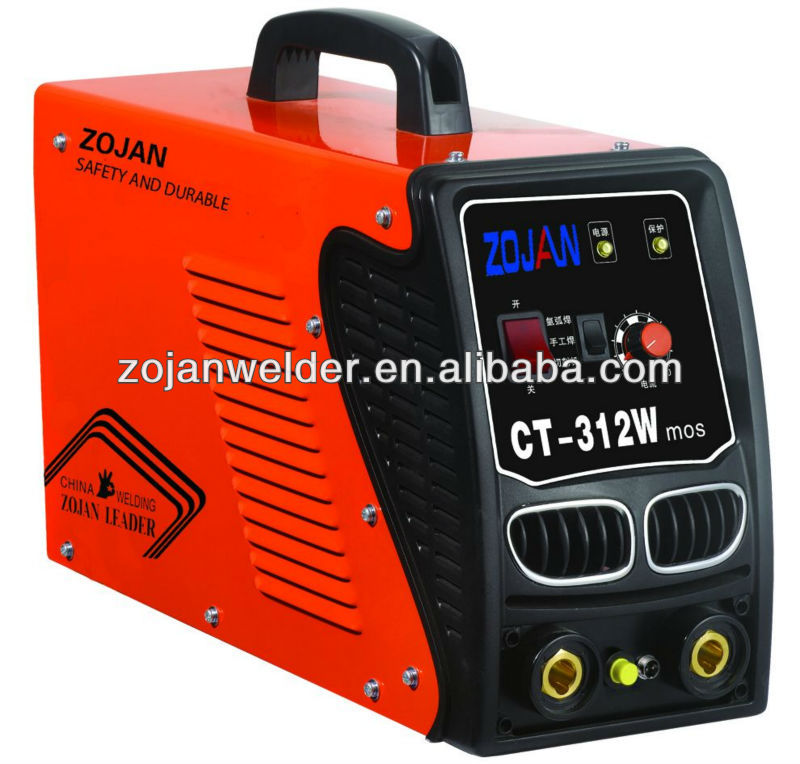 portable inverter DC CT312W multi-function/versatile argon arc welding machine