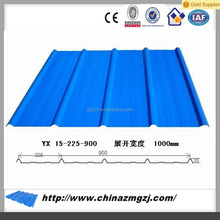 Best selling colour coated cold rolled steel sheet,perforated metal roofing sheet