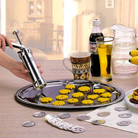 Food grade cookie press maker biscuit cookie gun with lowest price
