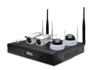 netis Outdoor Wireless Security System with IP Camera and NVR