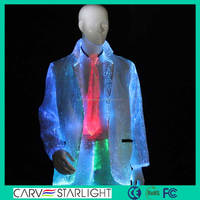 NEWEST luminous new style jazz dance costume mens wear jackets
