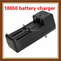 Multi-function 18350 18650 battery li-ion charger double charger universal 18650 rechargeable battery charger 3.7v