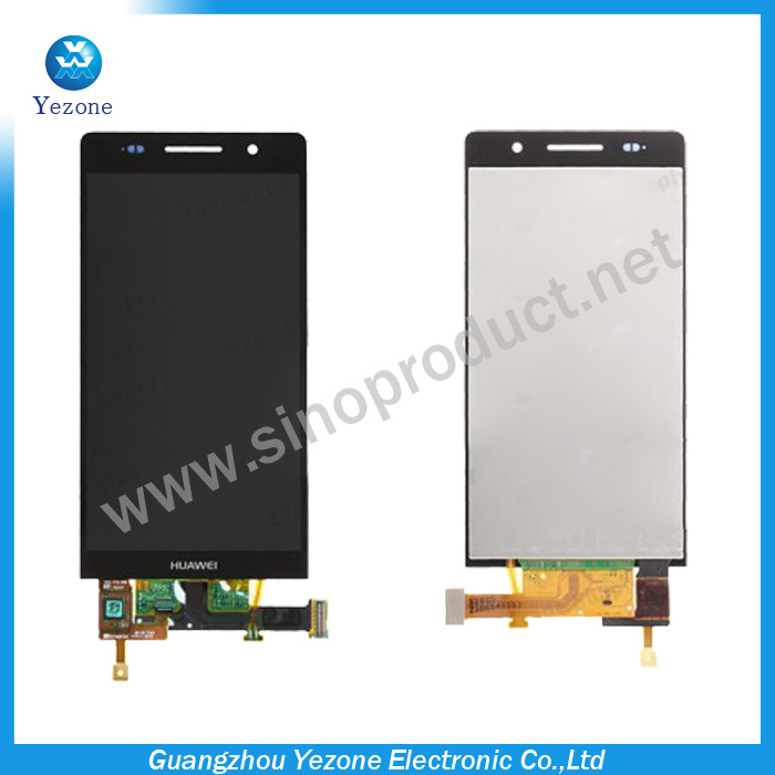 Original Replacement Full LCD Display+Touch Screen Digitizer For Huawei Ascend P6 Lcd Screen