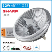 High CRI narrow beam angle ar111 led spotlight, No glare led ar111 dimmable led spot light