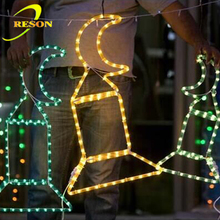 LED waterproof ramadan lantern festoon string light