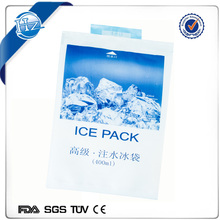 Water injection type ice pack reusable ice pack for seafood transportation