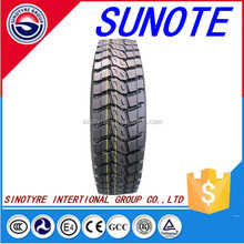 Top Value Truck tyre, works in various conditions, with strengthened tire body and cut-resistant tire tread