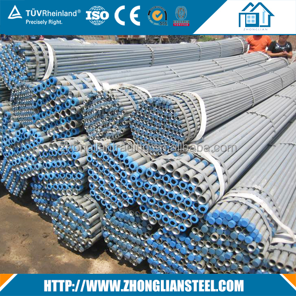 Hot selling!!! Guangzhou 6 inch 12 inch 24 inch galvanized steel water pipe