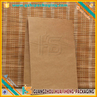 Resealable small Kraft Paper Food Packaging Bags