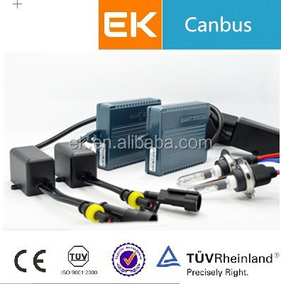 EK Newest Canbus Shockproof Waterproof Xenon H8 H9 H10 H11 3000k 4300k 5000k 6000k Whosale HID Xenon D1S