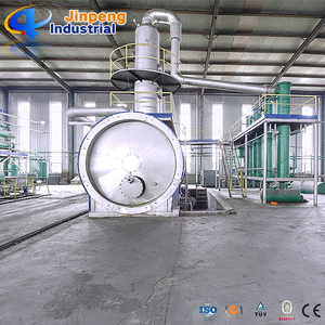 Jinpeng Waste Oil Refining Plant / Crude Oil Distillation Machine