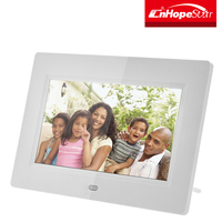 Customized logo printing 7 inch digital picture frame